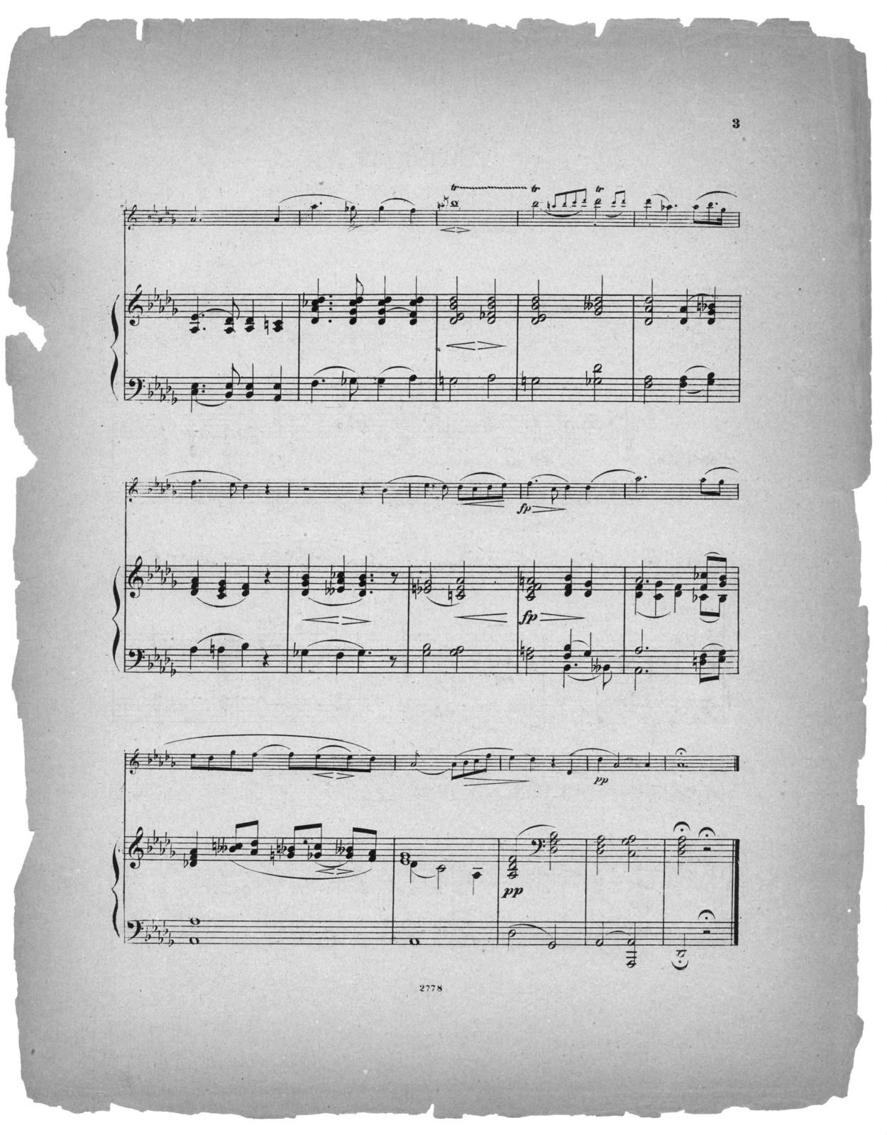 Abendlied, op. 85, no. 12