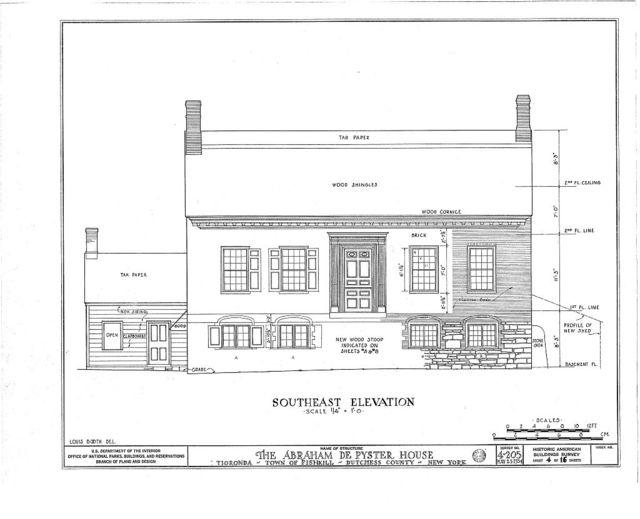 Abraham De Peyster House, Town of Fishkill, Fishkill, Dutchess County, NY