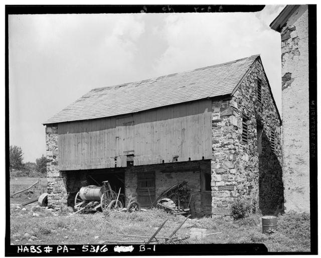Abraham Dorfer Barn B, Emmaus, Lehigh County, PA