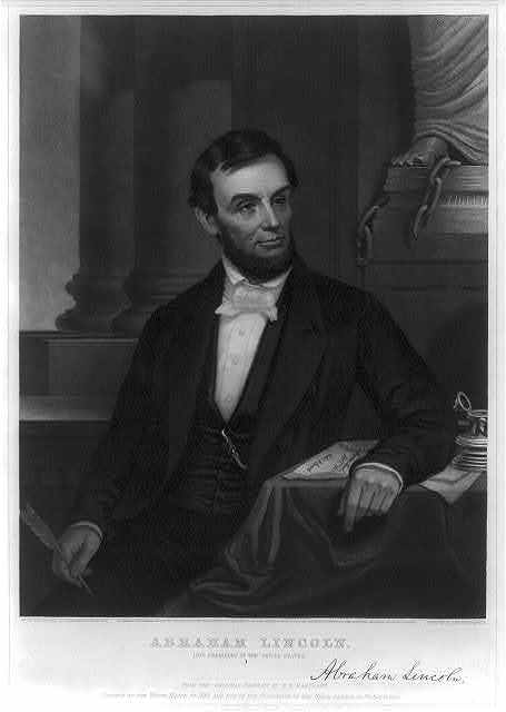 Abraham Lincoln - 16th president of the United States
