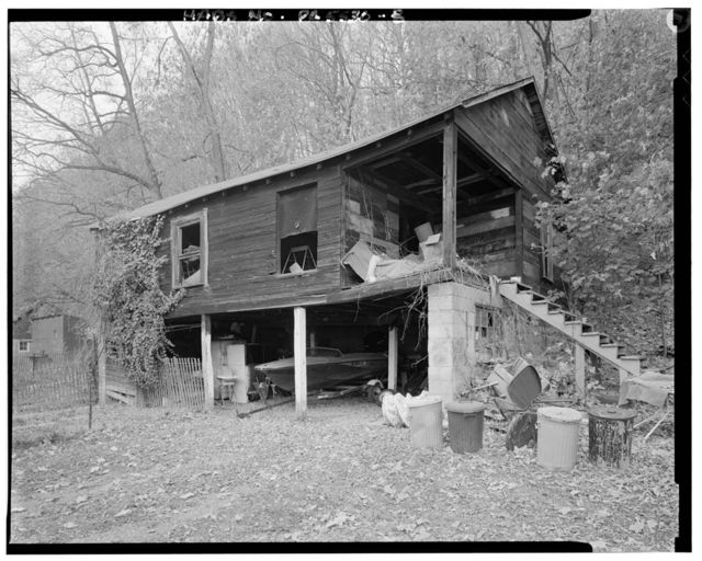 Abraham Maurer House, Route 664, approximately 1400 feet East of Jay Street Bridge, Lockport, Clinton County, PA