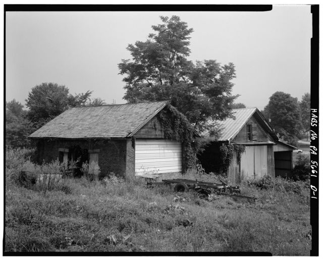 Abraham Overholt Farm, Stables, Frick Avenue, West Overton, Westmoreland County, PA