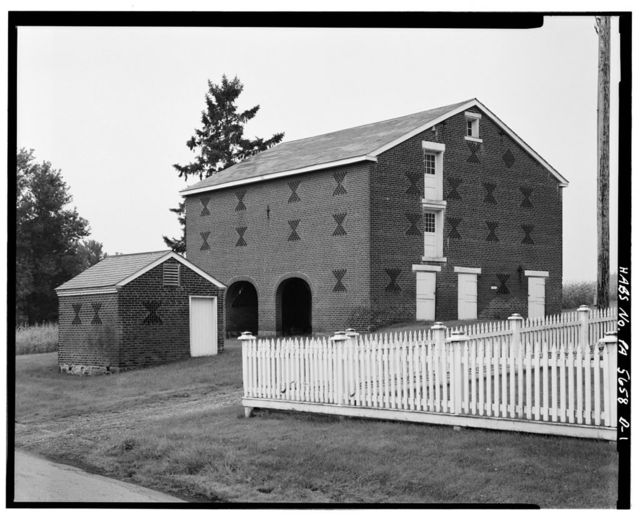 Abraham Overholt House, South Stables & Hog Pen, West Overton, Westmoreland County, PA