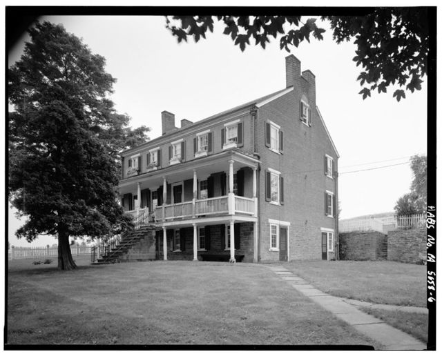 Abraham Overholt House, West Overton, Westmoreland County, PA