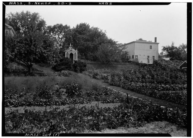 Abraham Wheelwright House & Garden, 77 High Street, Newburyport, Essex County, MA