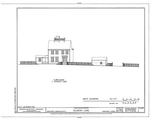 Academy Lane (Houses), Nantucket, Nantucket County, MA