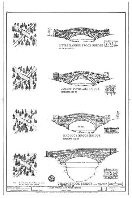 Acadia National Park Roads & Bridges, Mount Desert Island, Bar Harbor, Hancock County, ME
