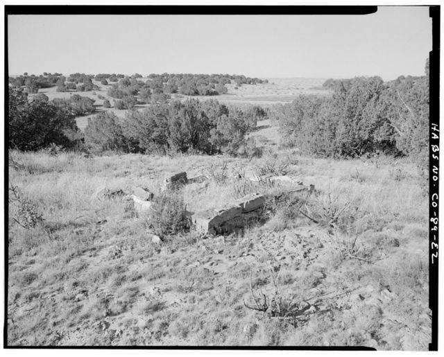 Adam & Bessie Arnet Homestead, Hen House, 320 feet east of Marguerite Arnet Residence, Model, Las Animas County, CO