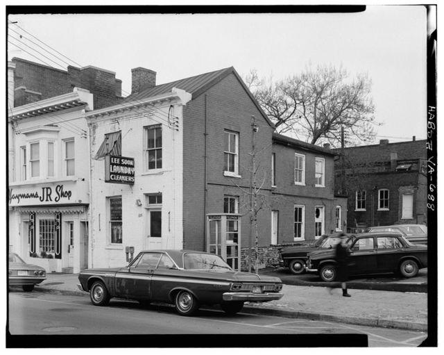 Adam Lynn House (third), 104 South Saint Asaph Street, Alexandria, Independent City, VA