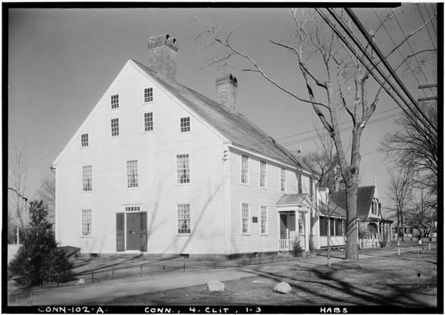 Adam Stanton House, Clinton, Middlesex County, CT