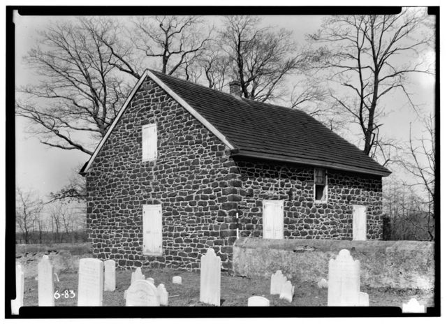Adams Methodist Episcopal Church, Road to Hendrickson's Mill, Swedesboro, Gloucester County, NJ