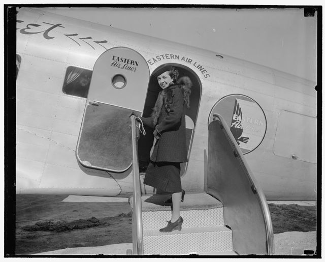 Adelaide Henry, Council for Eastern Air Lines, 3/9/38
