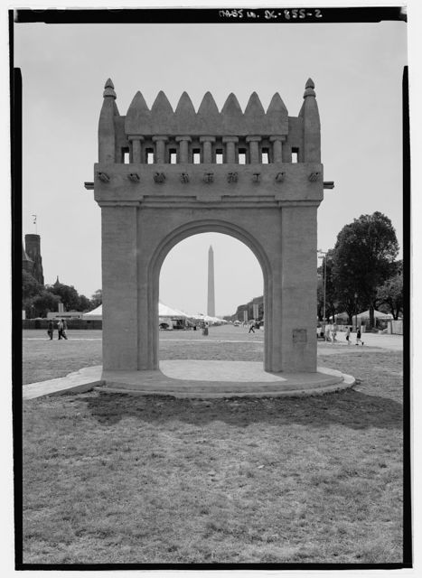 Adobe Structure (Temporary), Washington, District of Columbia, DC