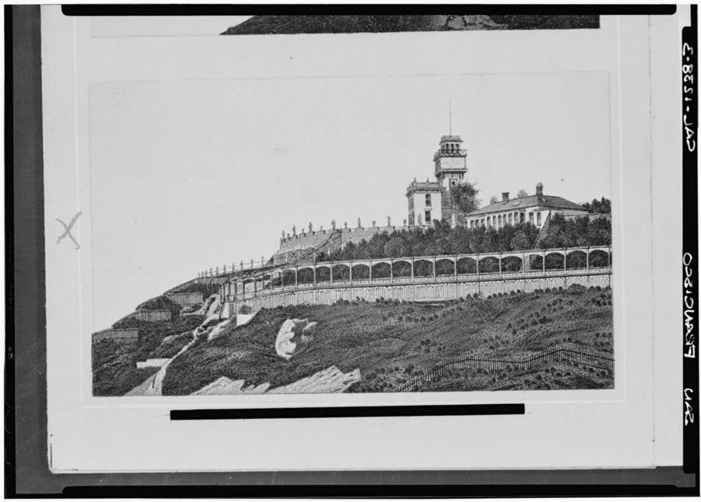 Adolph Sutro House, Point Lobos & Forty-Eighth Avenue, San Francisco, San Francisco County, CA