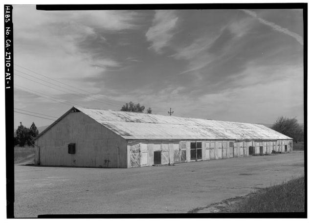 Agnews State Hospital, Employee Garage, Between North Circle Drive & Lickmill Road, Santa Clara, Santa Clara County, CA