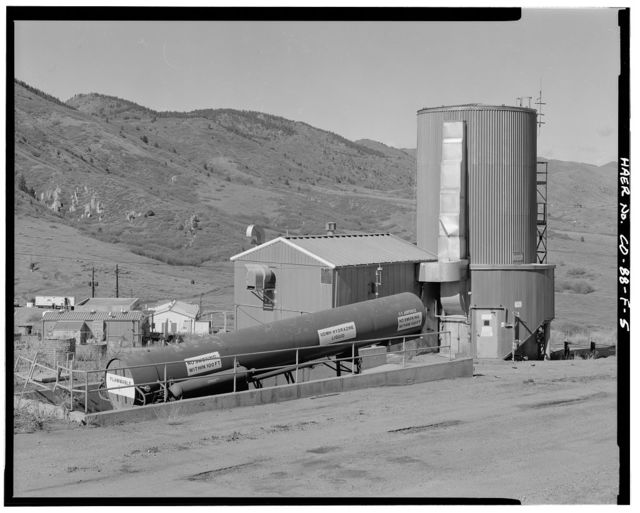 Air Force Plant PJKS, Systems Integration Laboratory, Long-Term Hydrazine Silo, Waterton Canyon Road & Colorado Highway 121, Lakewood, Jefferson County, CO