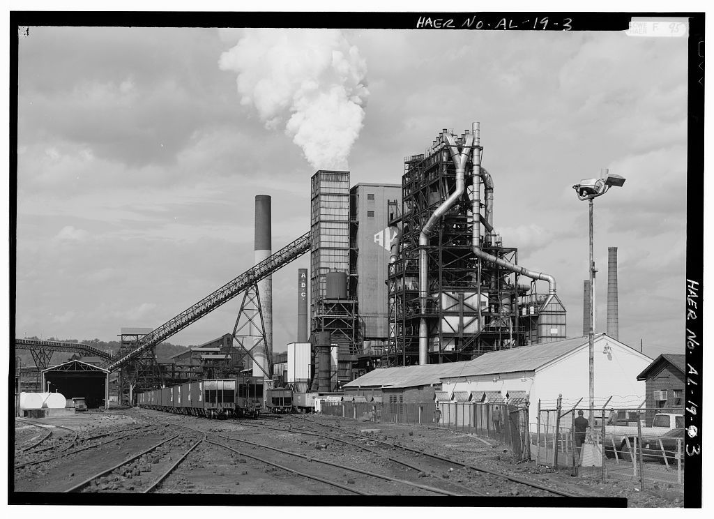 Alabama By-Products Company, Coke Plant, Highway 79 (Pinson Valley Parkway), Tarrant City, Jefferson County, AL
