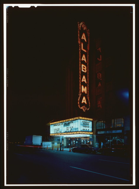 Alabama Theatre, 1811 Third Avenue North, Birmingham, Jefferson County, AL