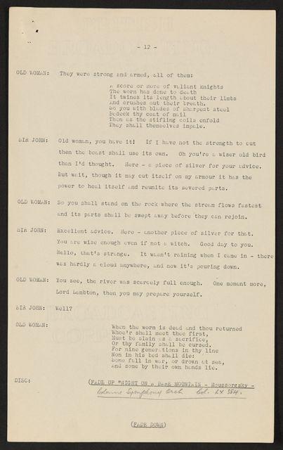 Alan Lomax Collection, Manuscripts, British Isles
