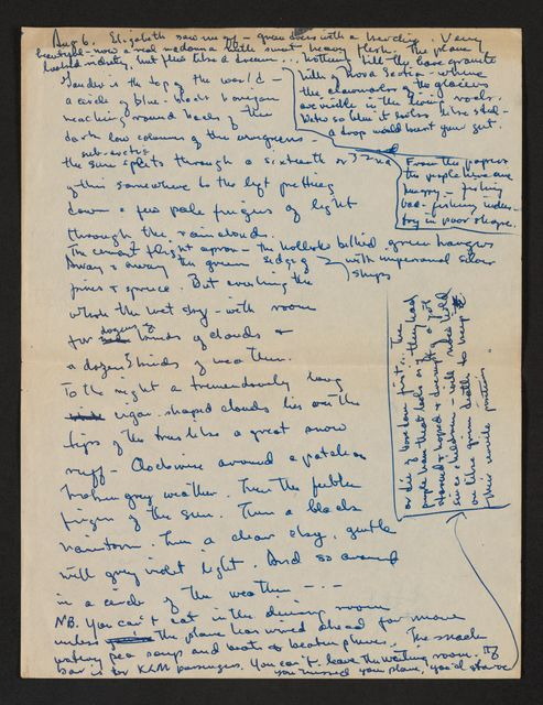 Alan Lomax Collection, Manuscripts, Eastern Europe, 1949