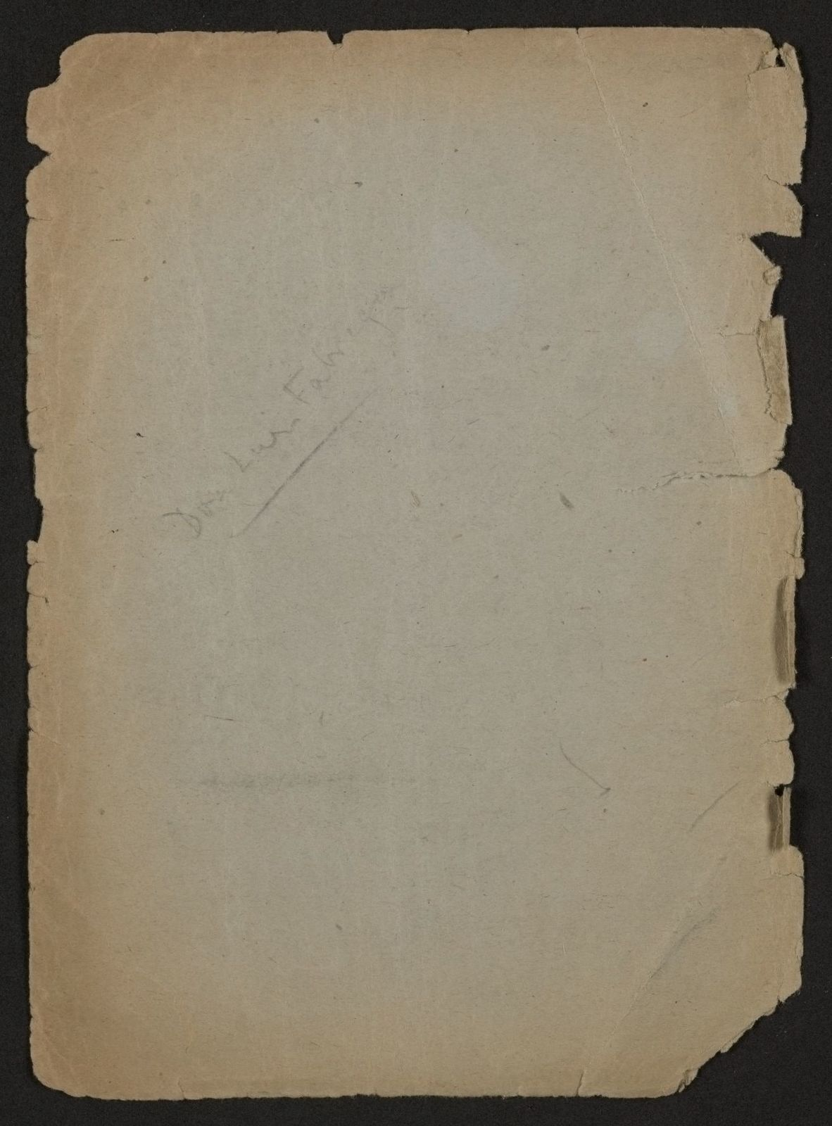 Alan Lomax Collection, Manuscripts, Mississippi and Texas, 1947-1948
