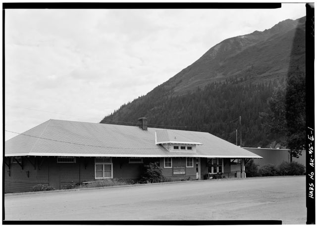 Alaska Railroad Depot, Seward, Kenai Peninsula Borough, AK