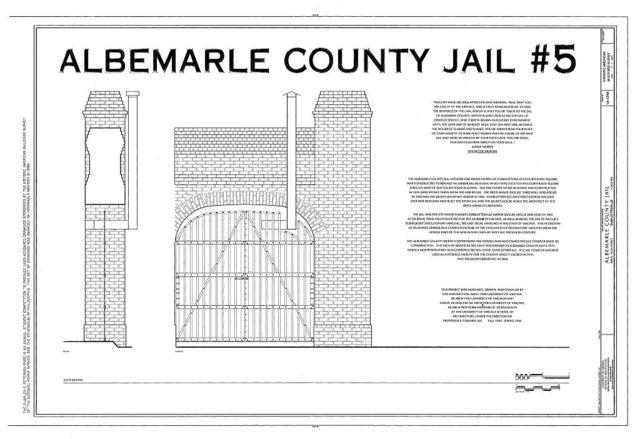 Albemarle County Jail, 409 East High Street, Charlottesville, Charlottesville, VA