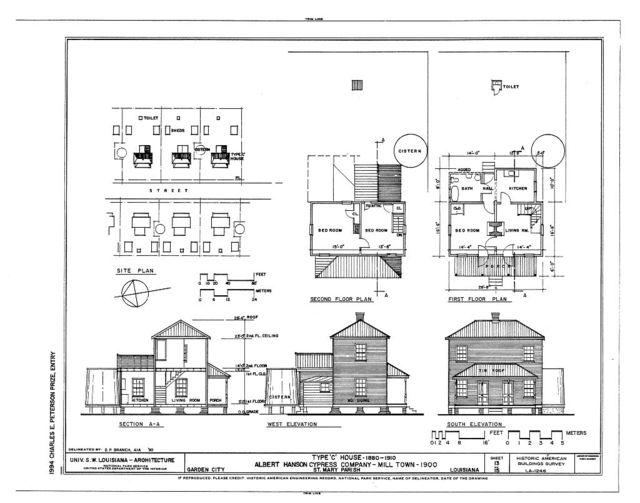 Albert Hanson Cypress Company, Garden City, St. Mary Parish, LA