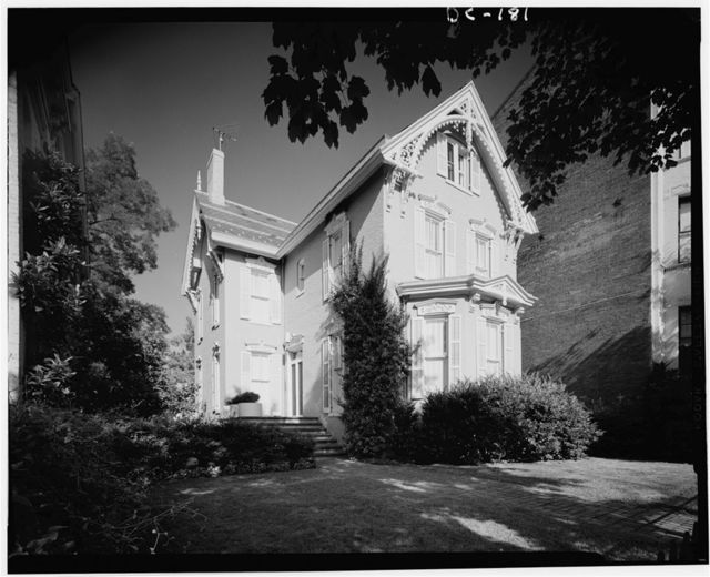 Albert Jackson House, 1694 Thirty-first Street Northwest, Washington, District of Columbia, DC