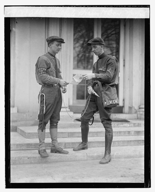 Albert L. White & Harry M. Dau[gherty], 2/22/24 (verify id with LC-F8-29143 & 29144)