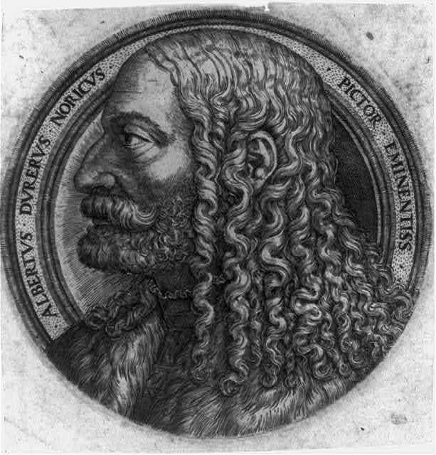 Albertus Durerus Noricus Pictor Eminentiss