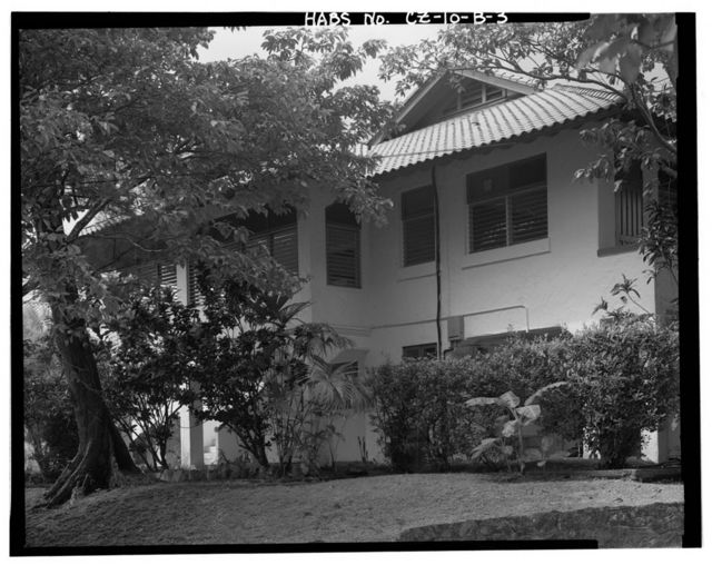 Albrook Air Force Station, Company Officer's Quarters, East side of Canfield Avenue, Balboa, Former Panama Canal Zone, CZ