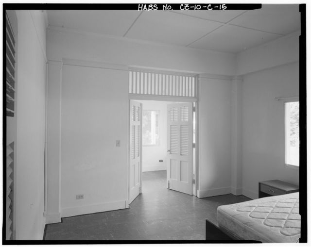 Albrook Air Force Station, Non-Commissioned Officers' Duplex, East side of Hall Street, Balboa, Former Panama Canal Zone, CZ
