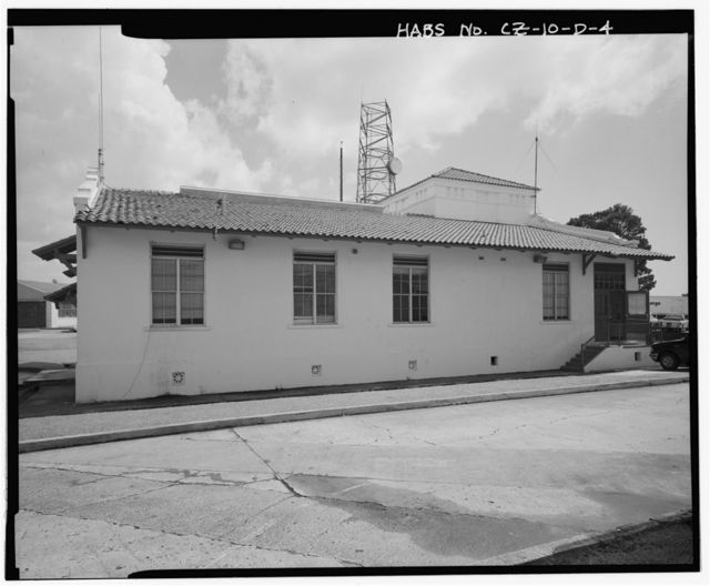 Albrook Air Force Station, Parachute & Armament Building, 200 feet north of Andrews Boulevard, Balboa, Former Panama Canal Zone, CZ