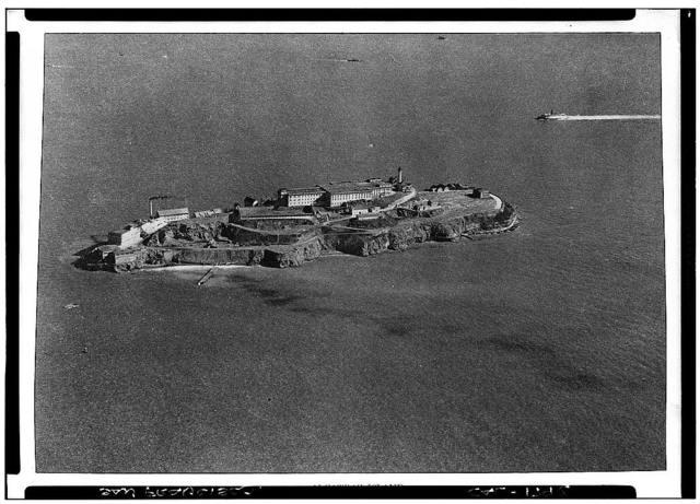 Alcatraz, San Francisco Bay, San Francisco, San Francisco County, CA