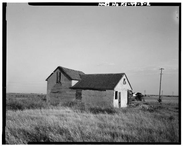 Alexander G. Vanduvall House, Nicodemus, Graham County, KS
