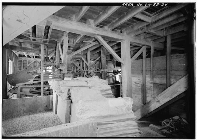Alexander's Grist Mill, Lock 37 on Ohio & Erie Canal, South of Cleveland, Valley View, Cuyahoga County, OH