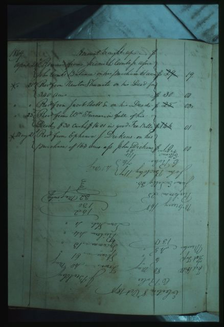 "Alfred Beckley's Private Memorandum Book, 1856-1865, including ""Statements of Agency for the Mssrs Francis and John A Granger"""