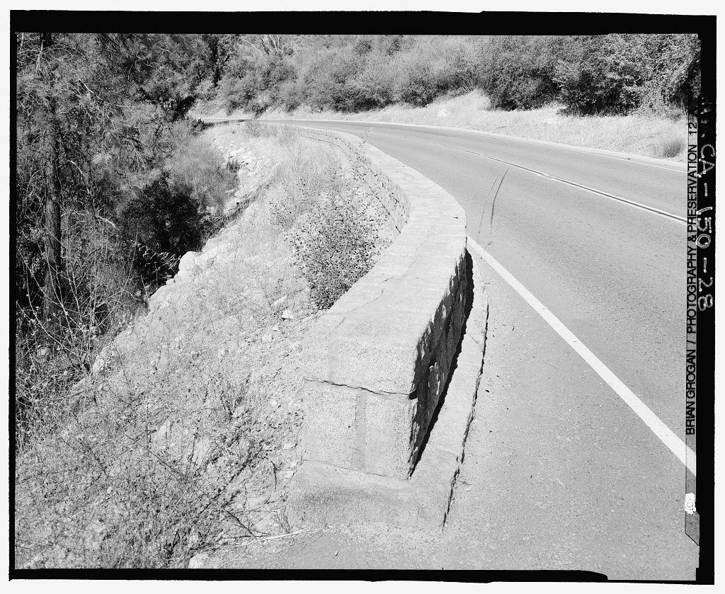All Year Highway, Between Arch Rock & Yosemite Valley, El Portal, Mariposa County, CA