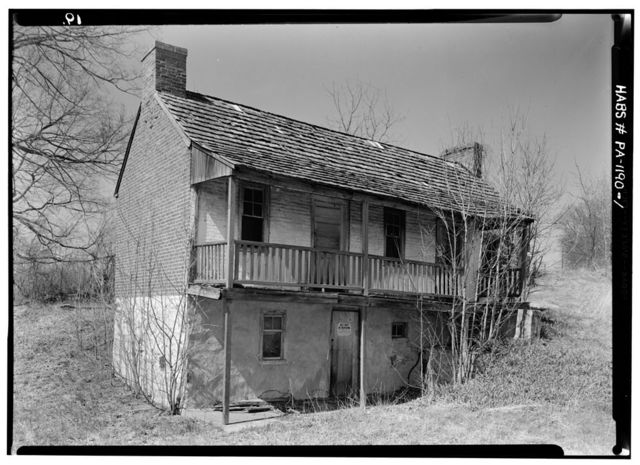 Allen House, Northbrook Road (Pocopson Township), Northbrook, Chester County, PA
