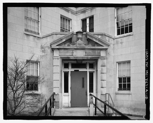 Allen Park Veterans Administration Hospital, Building No. 1, Southfield Expressway & Outer Drive, Allen Park, Wayne County, MI