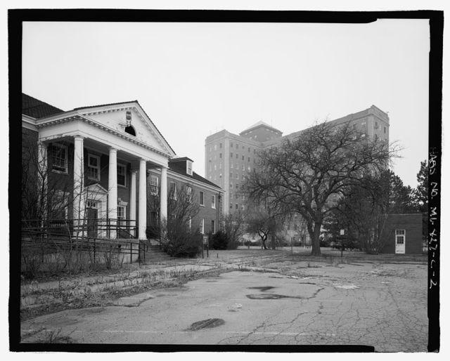 Allen Park Veterans Administration Hospital, Building No. 7, Southfield Expressway & Outer Drive, Allen Park, Wayne County, MI