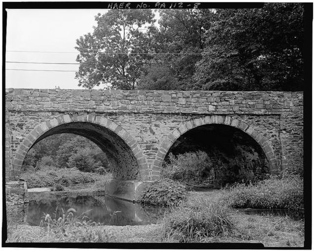 Allentown Road Bridge, Spanning Skippack Creek on Allentown Road, Franconia, Montgomery County, PA