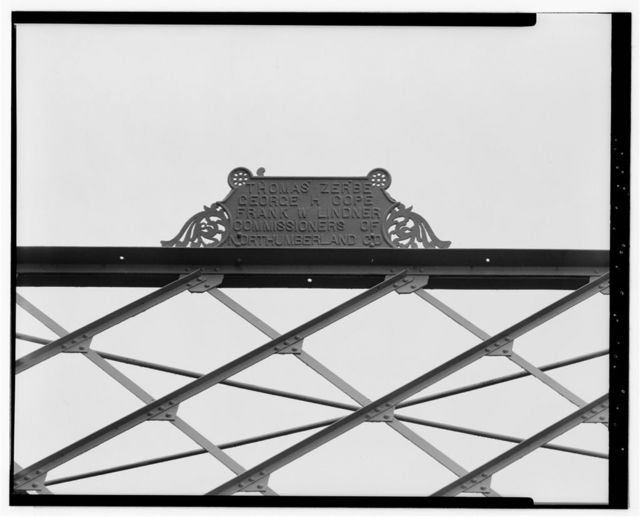 Allenwood Bridge, Spanning West Branch of Susquehanna River on State Route 44, Dewart, Northumberland County, PA