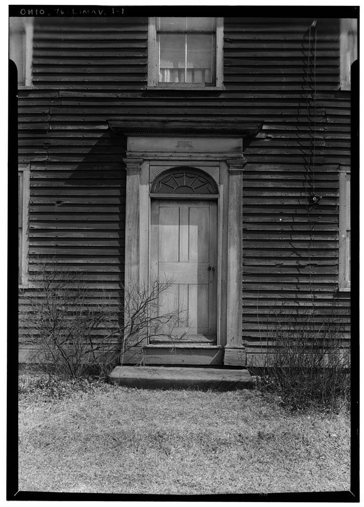 Alonzo Baldwin House (Entrance Doorway), State Route 225, Limaville, Stark County, OH