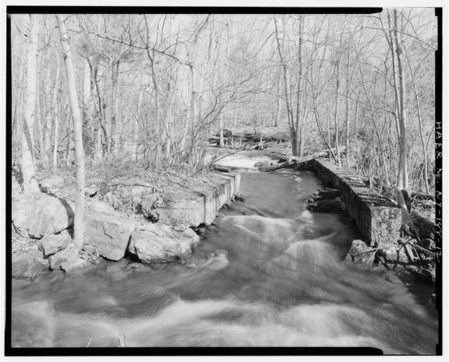 Alpina Iron Furnace, At head of Bonaparte Creek, Harrisville, Lewis County, NY