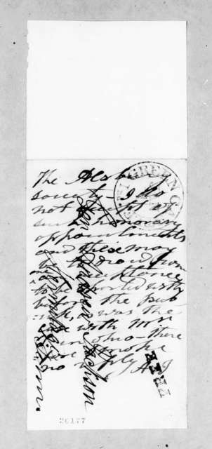 Alsbury Society to Andrew Jackson