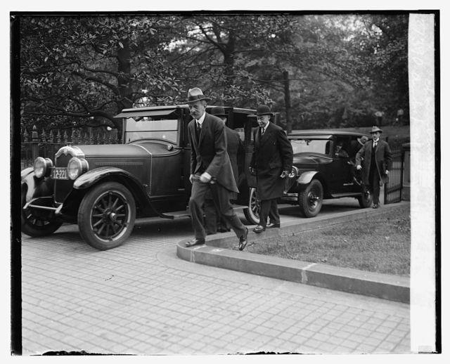 Amb. Daeschner & Pierre de Chambrun at Treasury, 9/24/25