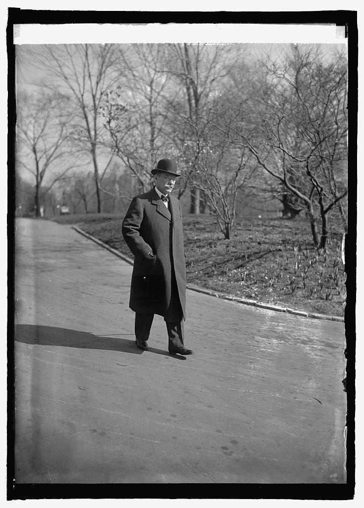 Ambassador Don C. de la Torriente at W.H. [i.e., White House, Washington, D.C.], 3/16/25