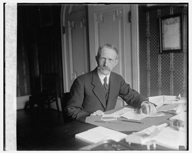 Ambassador M. Emile Daeschner of France, 1/26/25